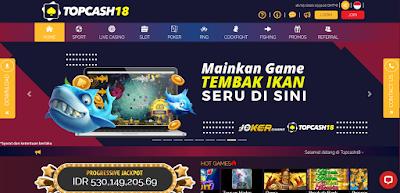Agen Slot Online Terpercaya Deposit Murah   Topcash18.biz