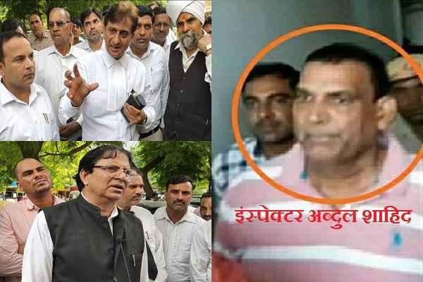 faridabad-dcp-vikram-kapoor-suicide-case-inspector-abdul-shahid-jail