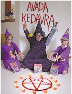 Harry Potter  satanismo infantil