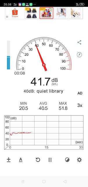 aplikasi pengukur suara