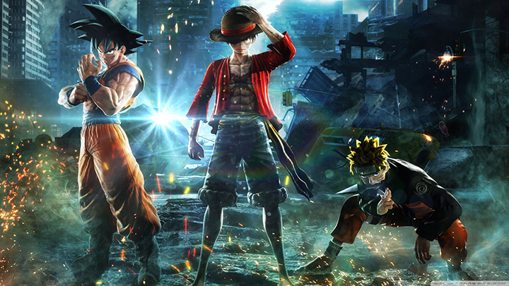 Jump Force - Naruto Goku Luffy Wallpaper Engine