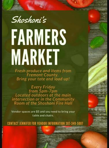 Shoshoni's Friday Farmers Market - 5-7PM