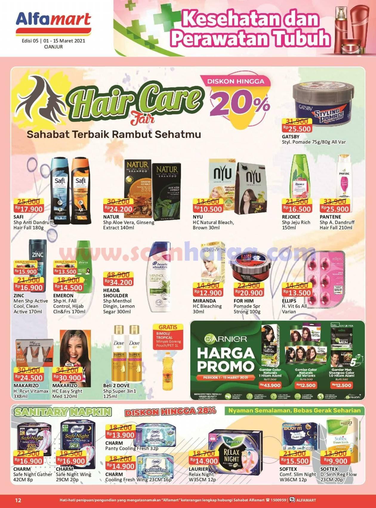 Katalog Promo Alfamart 1 - 15 Maret 2021 12