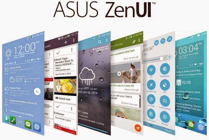 Asus ZenUI What's Next dan Do It Later