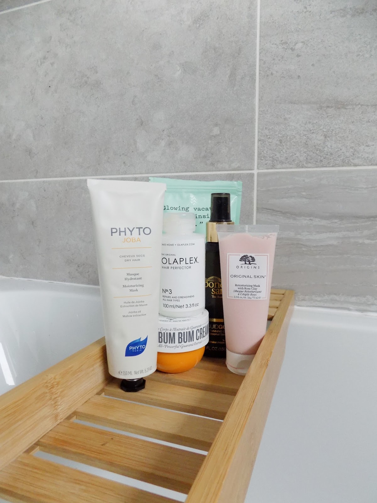 pamper essentials olaplex origins phyto