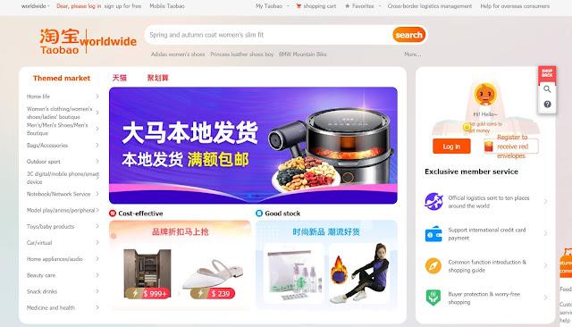 Mula Berniaga Dengan Borong Barang Dari China Menerusi Taobao.com