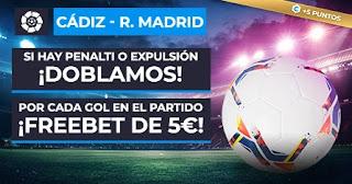 Paston promo Cadiz vs Real Madrid 21-4-2021