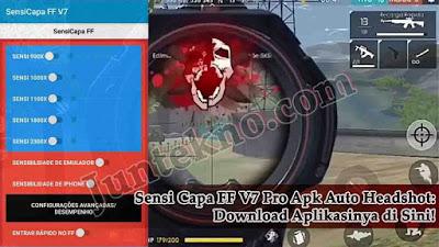 Sensi Capa FF V7, Sensi Capa FF V7 Pro Apk Auto Headshot