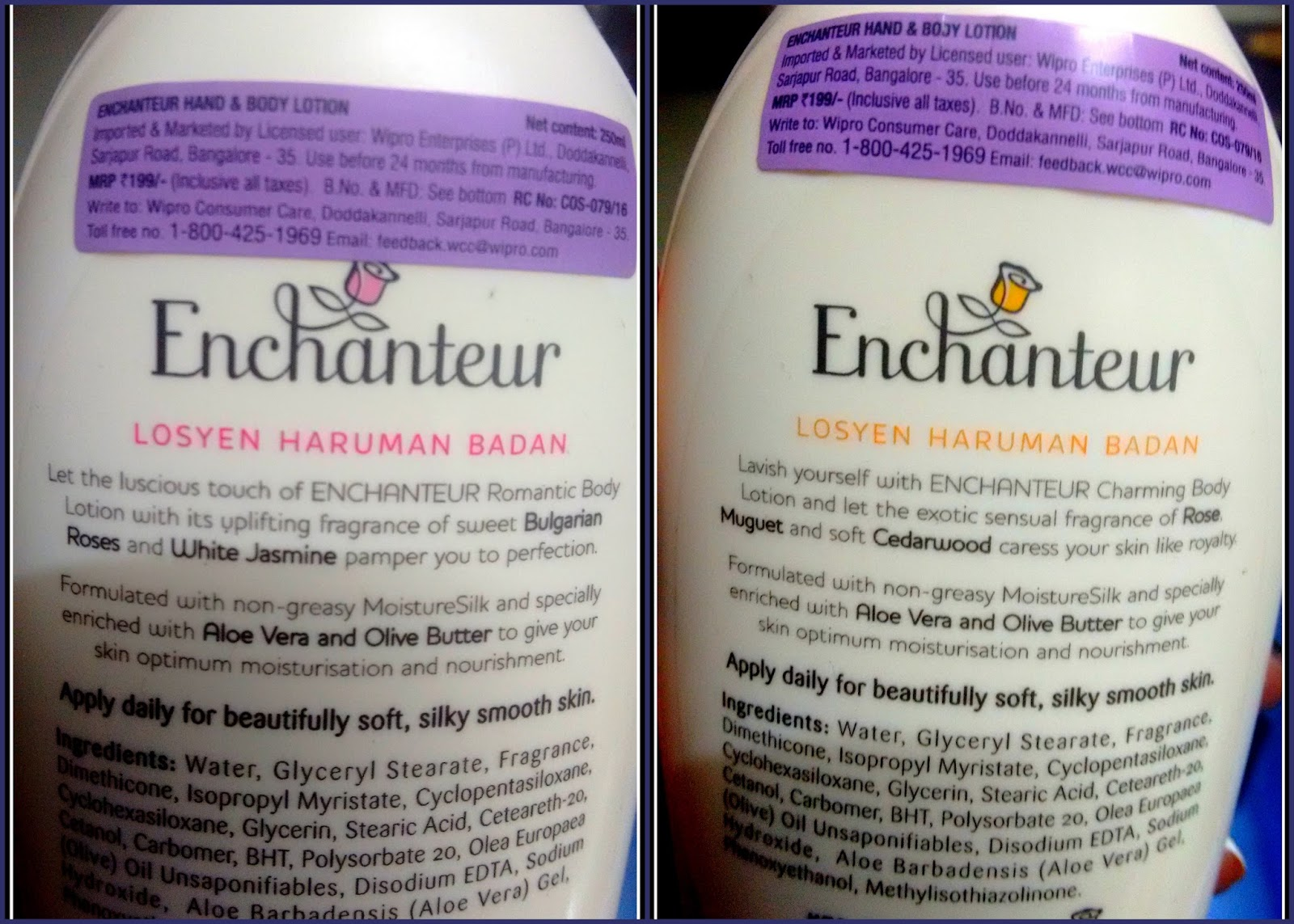Welcome To Beautyandthecode Blog Page Enchanteur Moisturesilk Perfumed Talc Alluring 200a Ingredients List Of Romantic Vs Charming Variant