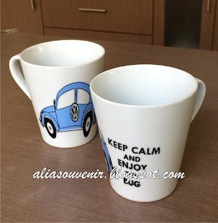 souvenir mug vw