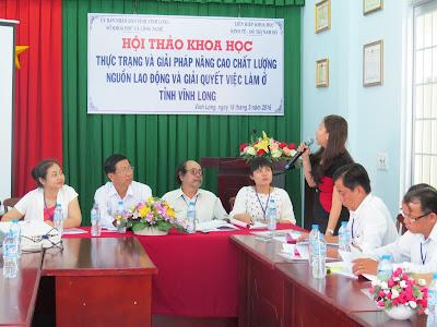 Hội thảo khoa học thực trang và giải pháp nâng cao chất lượng nguồn lao động và giải quyết việc làm