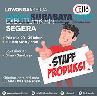 Lowongan Kerja Surabaya Terbaru 2019 di Cello Gallery Juli