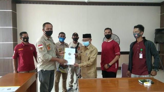 Gemantara Acut Bersilaturahmi Dengan Sekda Aceh Utara
