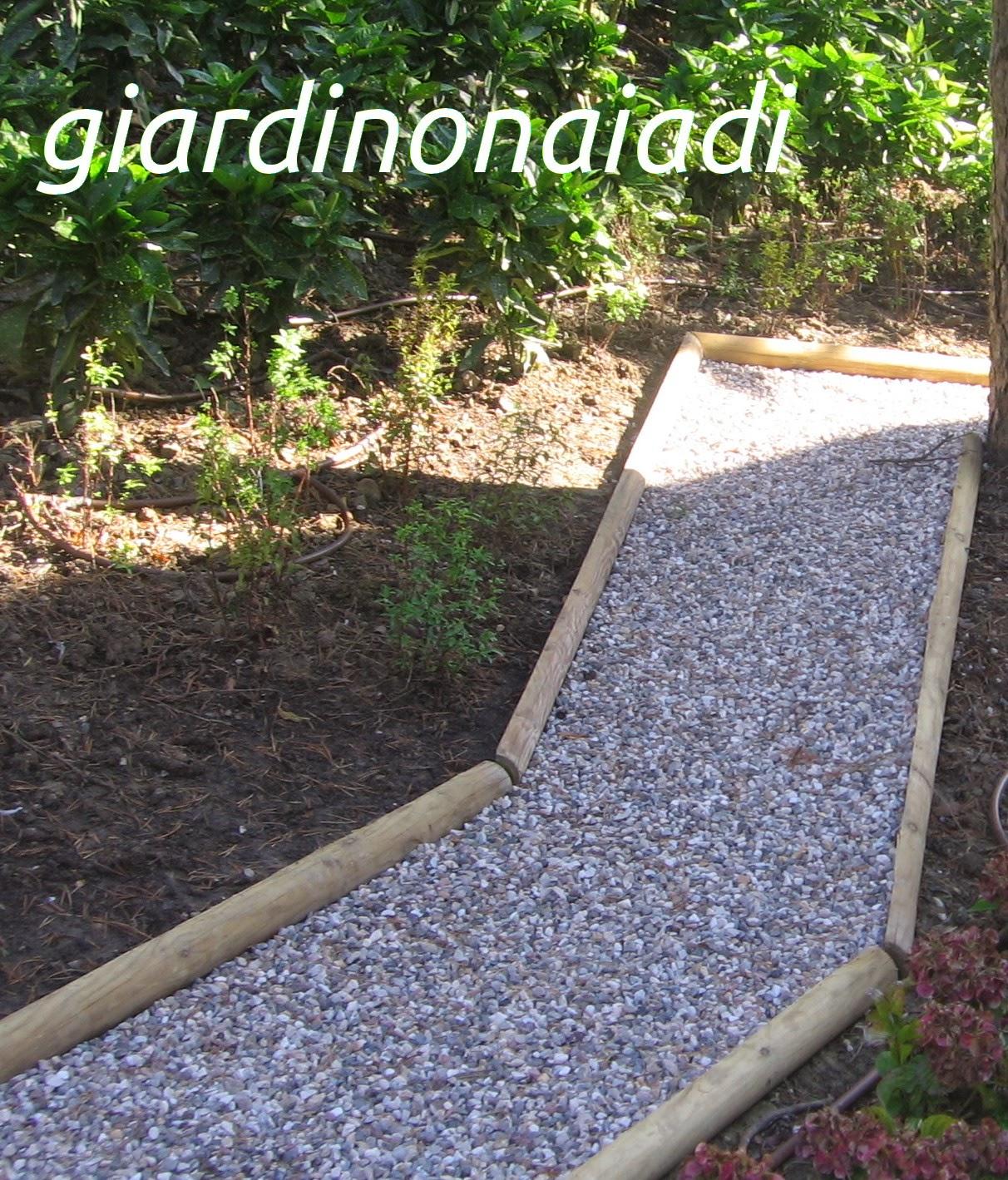 Famoso Il giardino delle Naiadi: DUE PASSI IN GIARDINO seconda parte DM08