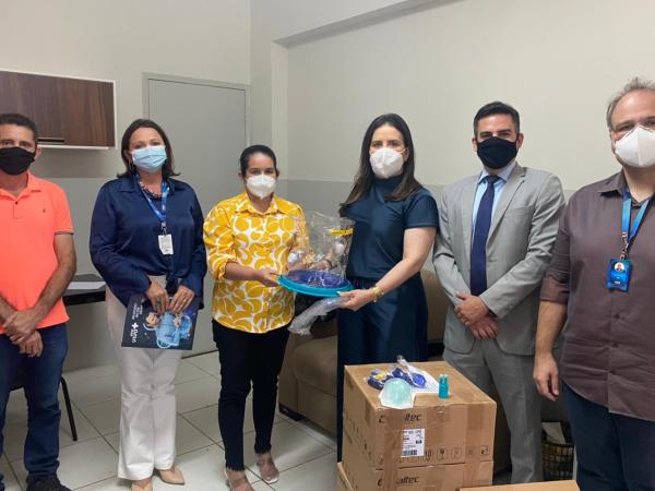 Em Cajazeiras: Saúde recebe doação de aparelhos de respiração