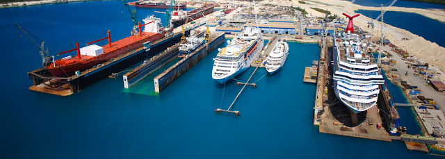 Hurricane Dorian causes only minimal damage to Grand Bahama Shipyard Freeport Bahamas - Facility Re-opens