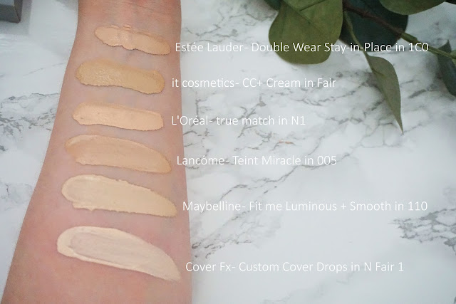 Review Cover Fx - Custom Cover Drops Swatches