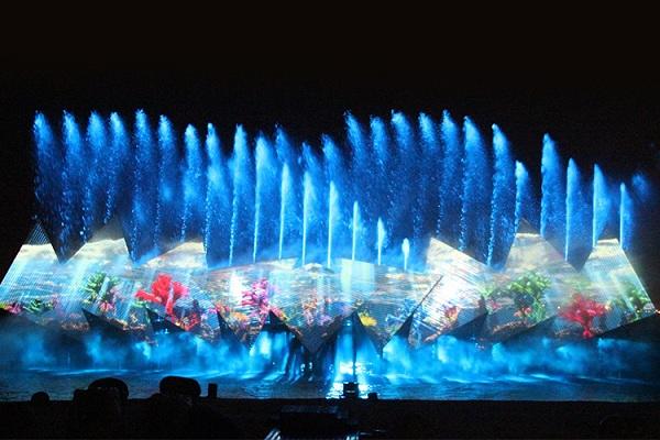 Chương trình nhạc nước đầy sắc màu và thú vị