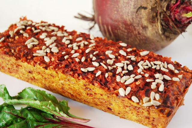 Cake betterave-carotte