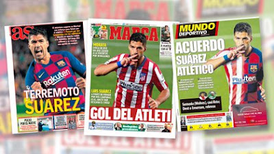 Luis Suárez Atlético Madrid