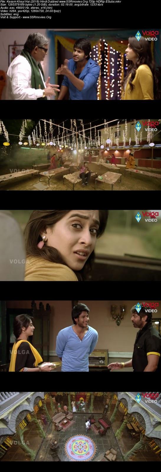 Kasam Khayi Hai (2018) Hindi Dubbed 720p HDRip