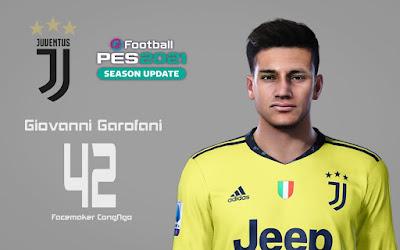 PES 2021 Faces Giovanni Garofani by CongNgo