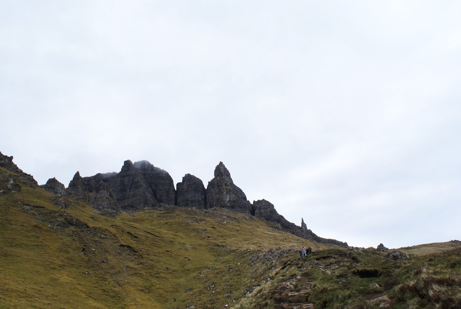 skye scotland uk old man of storr