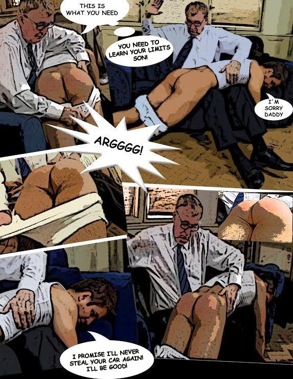 hot spanking cartoon - Part 2 Rudi Valance