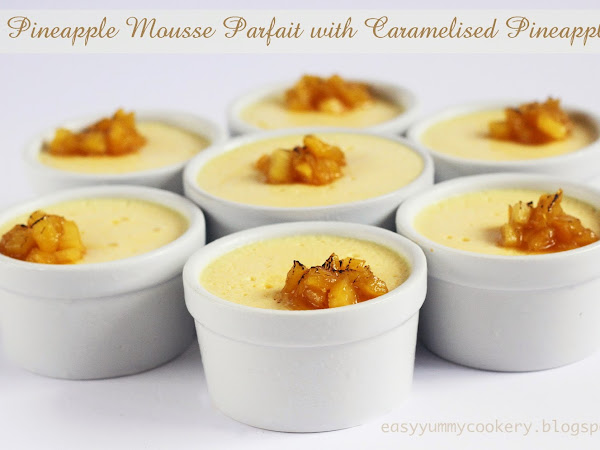 Pineapple Mousse Parfait
