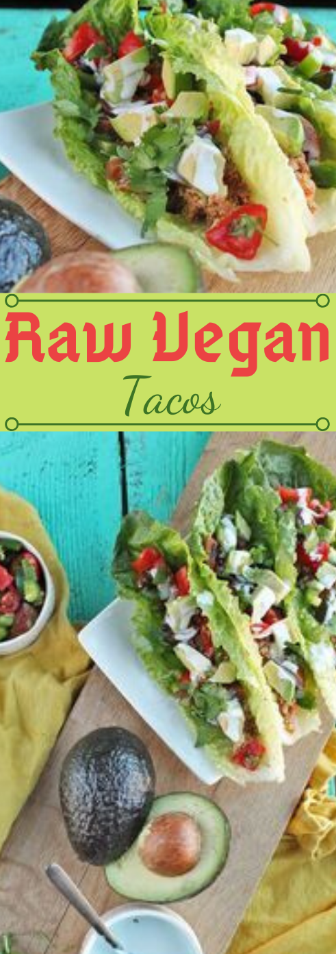 RAW VEGAN TACOS #vegan #tacos #vegetarian #easy #recipes