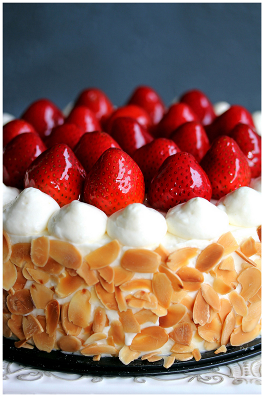 Strawberry Shortcake Cake Till