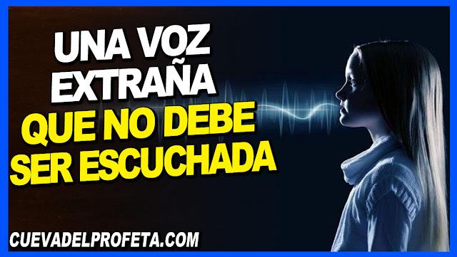 Una voz extraña que no debe ser escuchada - William Marrion Branham en Español