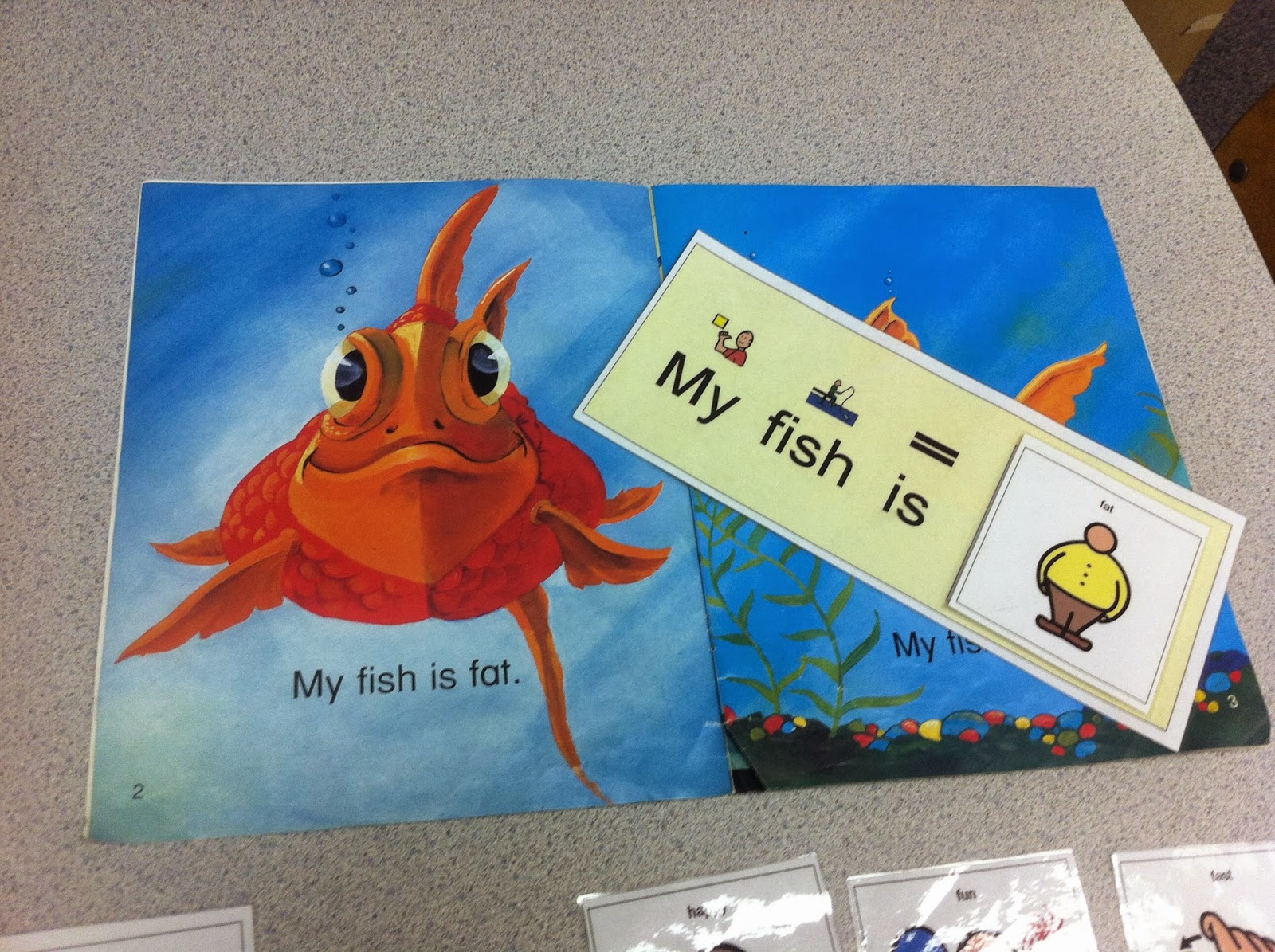 Story Lines A Reading Comprehension Game: Reading Comprehension Activity: My Fish!