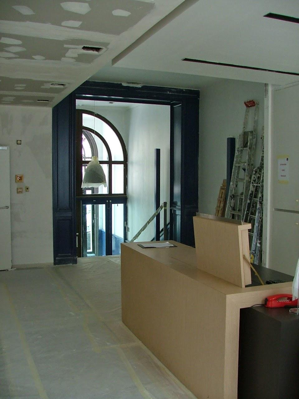 philippe bonfanti architecte renovation si ge groupe talan rue euler paris 08 avec anne laure. Black Bedroom Furniture Sets. Home Design Ideas