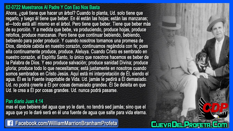 Dándole cabida en nuestro corazón - William Branham en Español