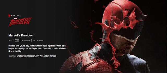 Daredevil, Daredevil Web series