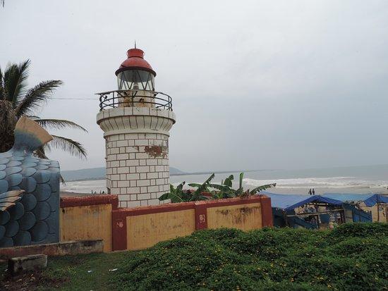 Bheemili Beach Light House