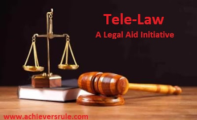 Tele-Law - A Legal Aid Initiative