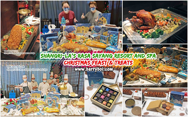 Shangri-La's Rasa Sayang Resort and Spa Christmas Feast Penang Blogger  Influencer www.barryboi.com Penang Hotel