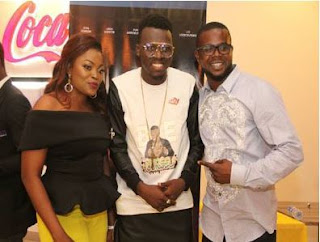 Tribute as Funke Akindele, And Her Husband Premieres 'Industreet'
