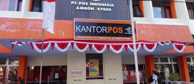 Kepala Kantor Pos Ambon, Sudarjo mengatakan pengguna jasa pengiriman paket, surat, dan uang di kota Ambon mengalami peningkatan menjelang hari Natal dan Tahun Baru 2017.