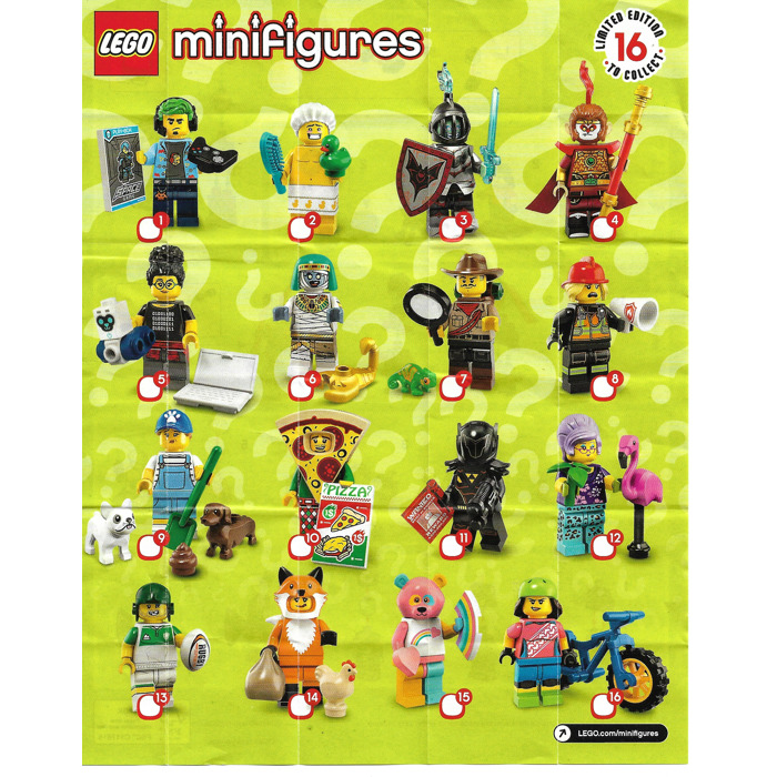 The Minifigure Collector Lego Minifigure Series 1 19 Ninjago Movie Batman Movie Series 1 And 2 Lego Movie Simpson Disney Harry Potter Dc Superheroes Checklists And Visual Guides