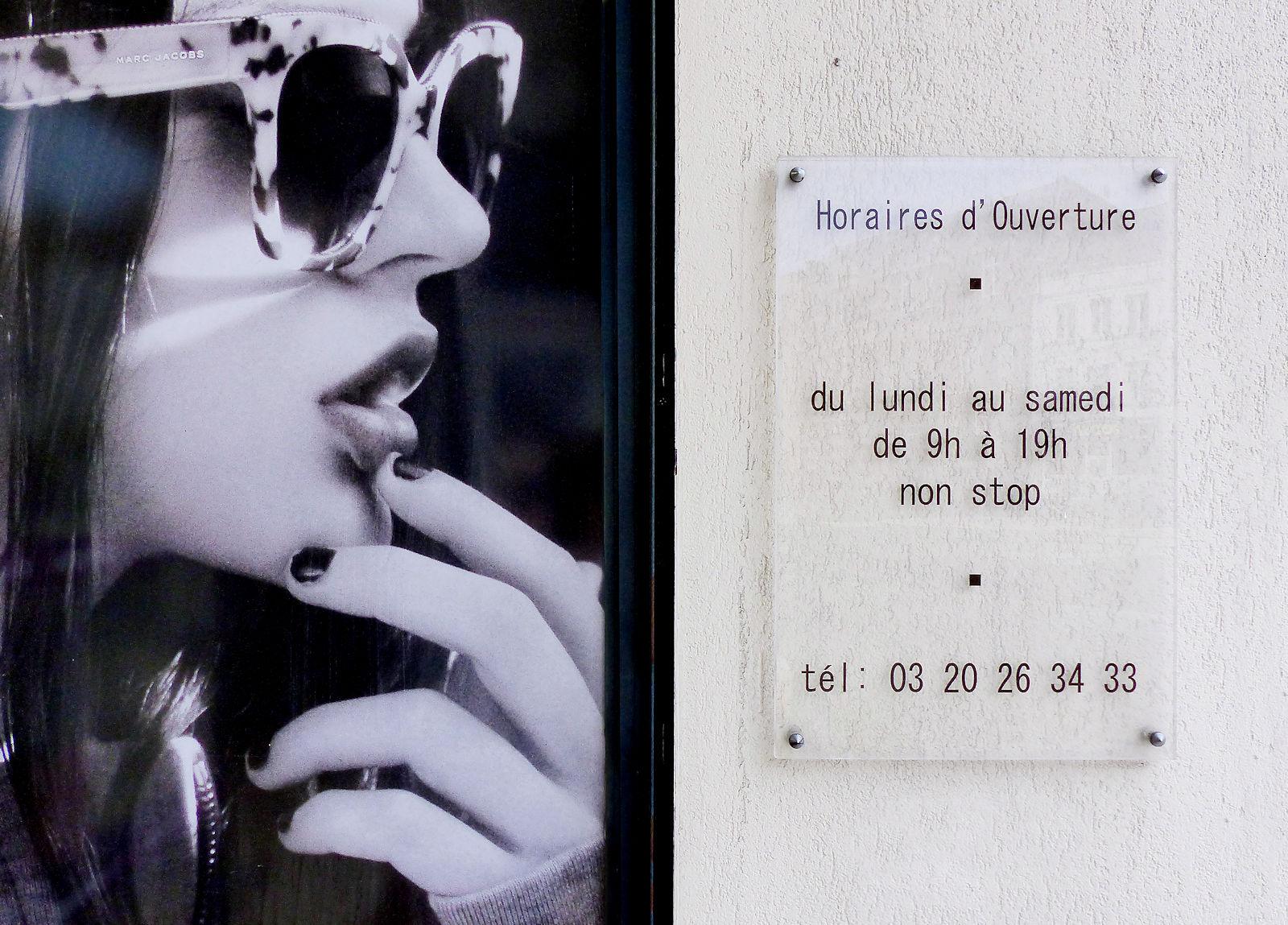 Horaires d'ouverture - Afflelou Tourcoing