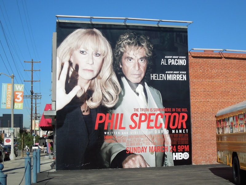 Phil Spector HBO Films billboard