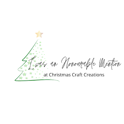 Honourable Mention at Christmas Craft Creations