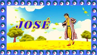 José com sua túnica colorida