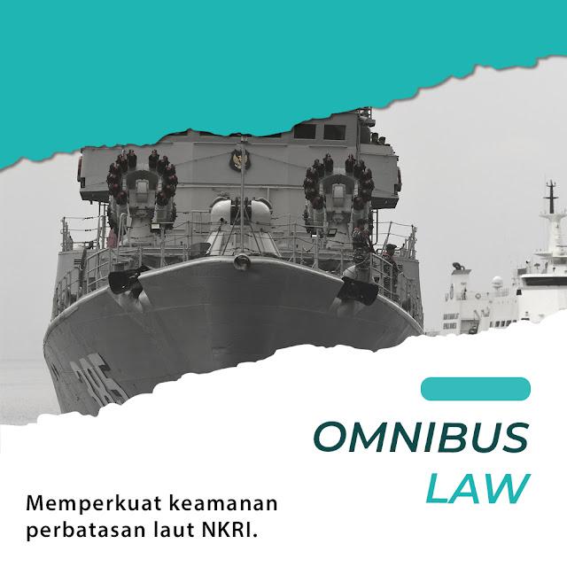 Omnibus Law memperkuat keamanan perbatasan laut indonesia