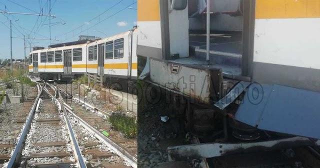 Termini-Centocelle: treno svia mentre rientra al deposito