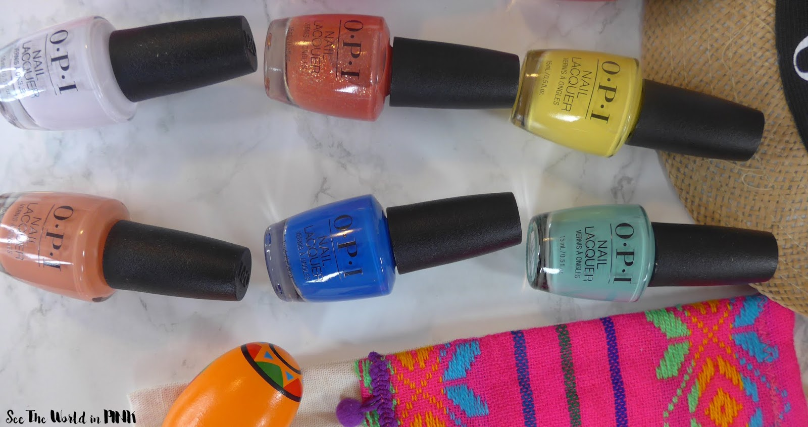 Manicure Monday - OPI Spring 2020 Mexico City Collection