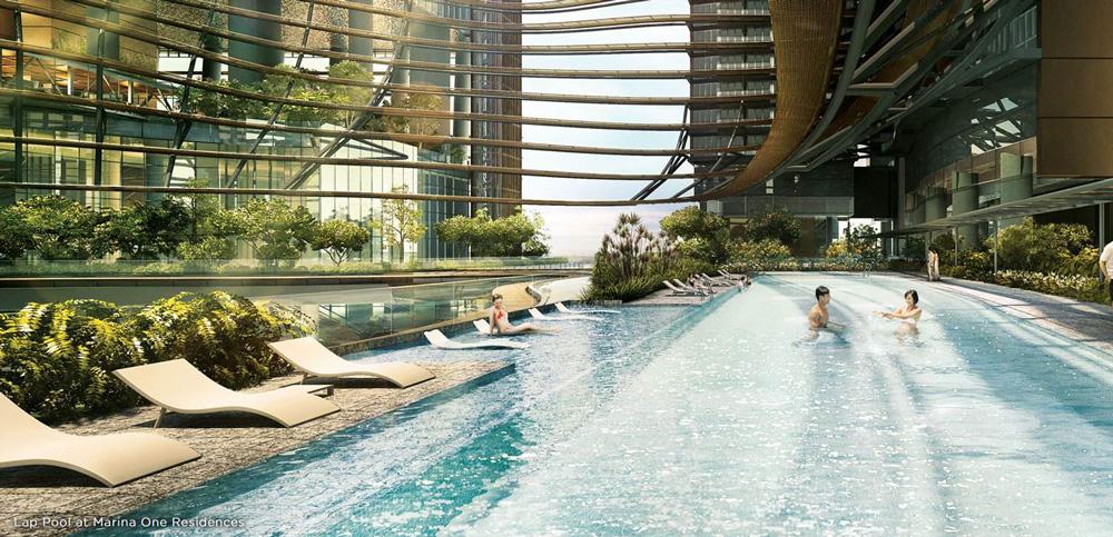 Marina One facilities